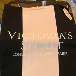 Victoria Secret Pink & Black Bag